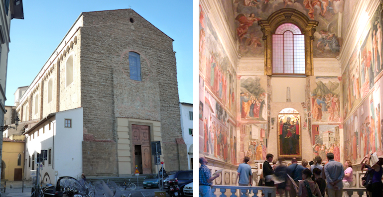 brancacci chapel in santa maria del The brancacci chapel is located in the church of santa maria del carmine it is  also known as the sistine chapel of the early renaissance for.
