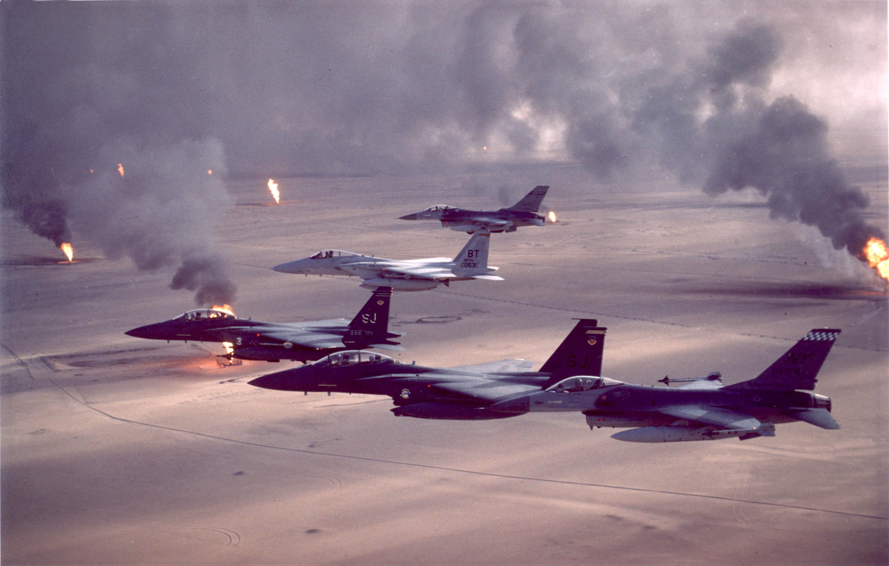 The Gulf War (article)   1990s America   Khan Academy