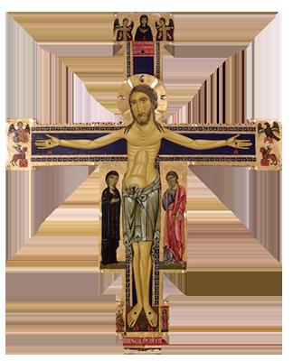 Berlinghiero Berlinghieri, Crucifix, c. 1220 (Museo nazionale di Villa Guinigi, Lucca)