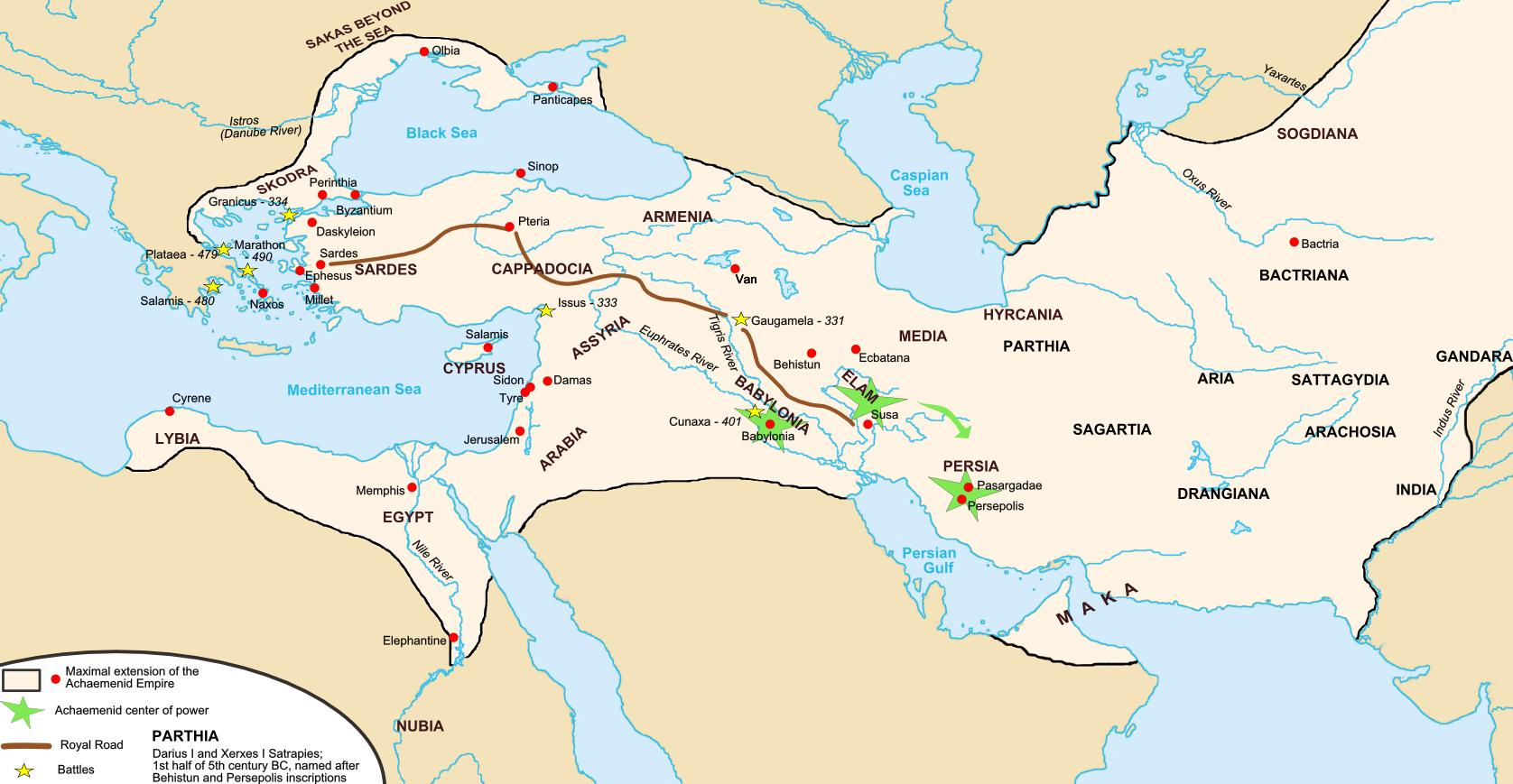 The Rise Of Persia Article Khan Academy