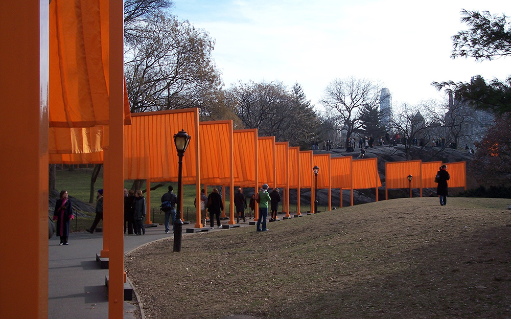 Christo and Jeanne-Claude, The Gates, 1979-2005, © Christo and Jeanne-Claude