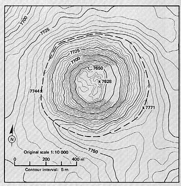 Topographic Map Of Mountains.Contour Maps Article Khan Academy