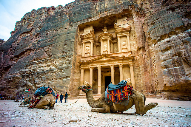 The so-called Treasury, Petra (Jordan), 2nd century C.E.