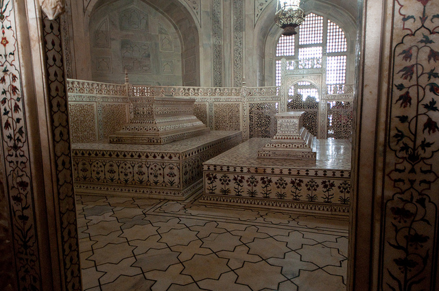 Cenotaphs, Taj Mahal, Agra, India, 1632-53