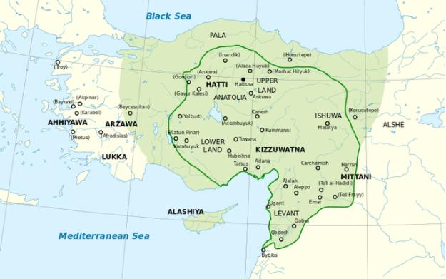 The Hittites and Ancient Anatolia (article) | Khan Academy