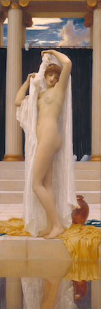 Frederic Leighton, Bath of Psyche, 1890, oil on canvas, 189.2 x 622 cm (Tate)