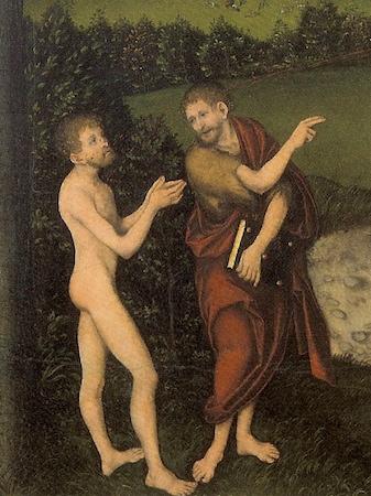 Caravaggio st john the baptist the nude