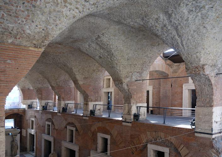 Apollodorus of Damascus, The Markets of Trajan (Great Market Hall), 112 C.E.