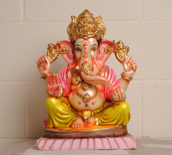 A contemporary statue of Ganesha for the display has already arrived from Mumbai