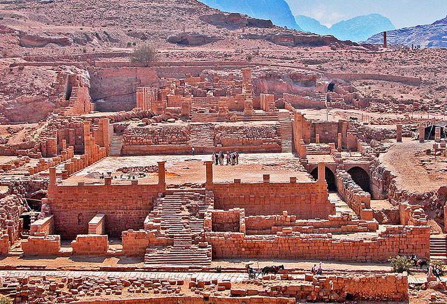 So-called Great Temple, Petra (Jordan)