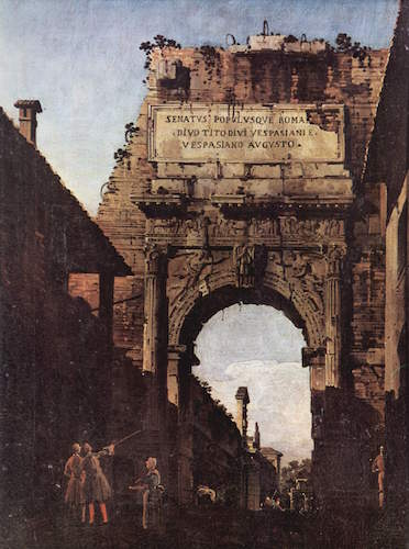 The arch of titus early empire article khan academy for Galleria carrara bergamo