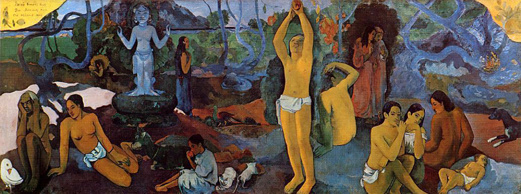 Gauguin Where Do We Come From What Are We Where Are We