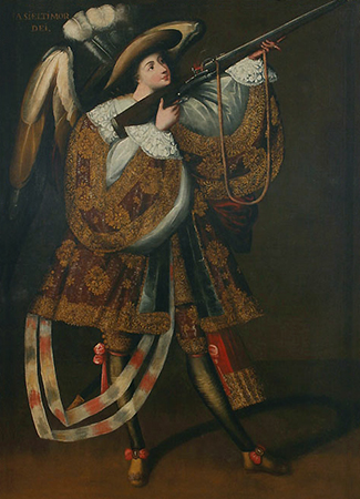 Master of Calamarca, Angel with Arquebus (article) | Khan