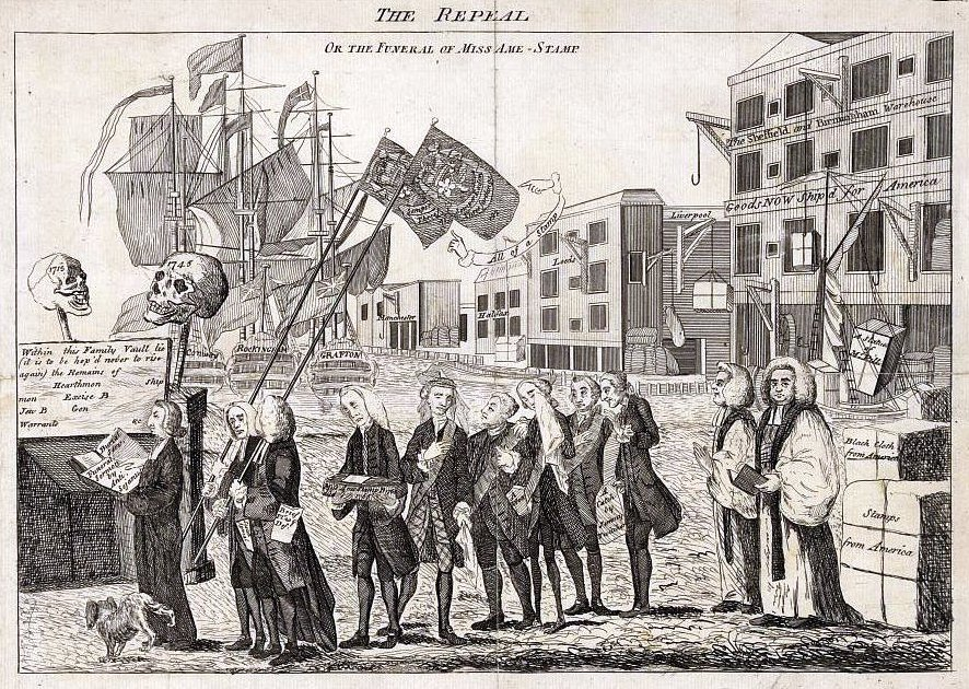 why did the british impose the stamp act