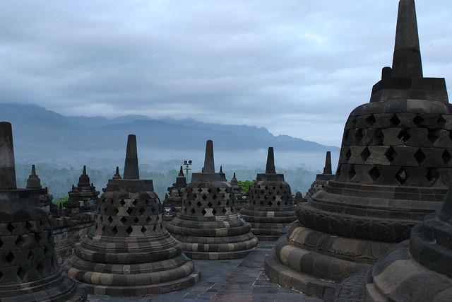 Borobudur, photo: Gildardo Sánchez (CC BY-NC-SA 2.0)