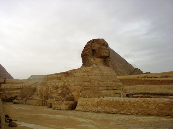 The Great Sphinx (photo: Dr. Amy Calvert)