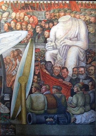 Mural De Diego Rivera Lenin