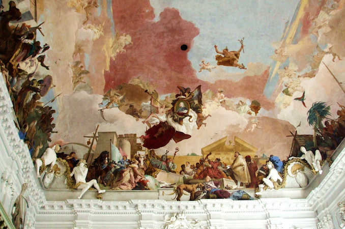 Giambattista and Domenico Tiepolo, Apollo and the Continents, Residenz Staircase, completed in 1744 (Residenz Palace, Würzburg, Germany), photo: Maria (CC BY-NC-ND 2.0)