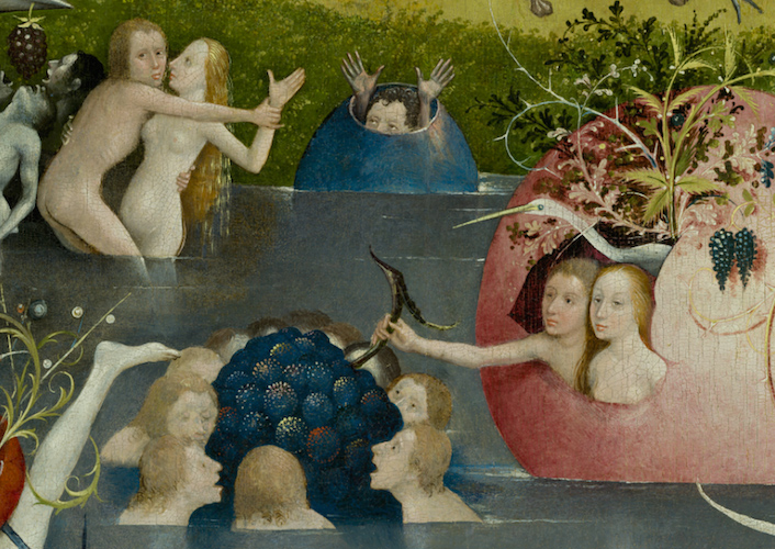Hieronymus Bosch, The Garden of Earthly Delights, c. 1480-1505, oil on panel, 220 x 390 cm (Prado)