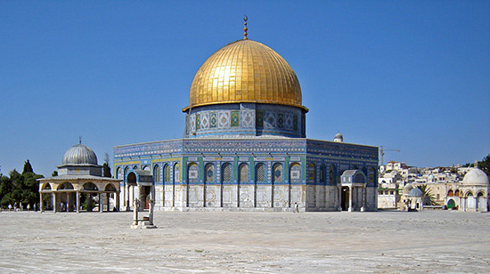 The Dome of the Rock (Qubbat al-Sakhra) (article) | Khan Academy Umayyad Calip Map on