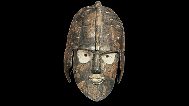 First restoration, Restoring the Sutton Hoo helmet © Trustees of the British Museum