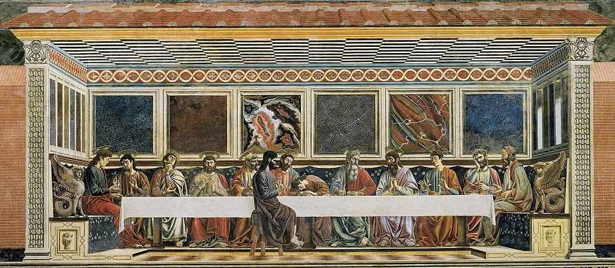 what was tintorettos painting goal in the last supper