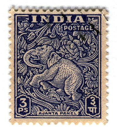 Ajanta Stamp, 1949