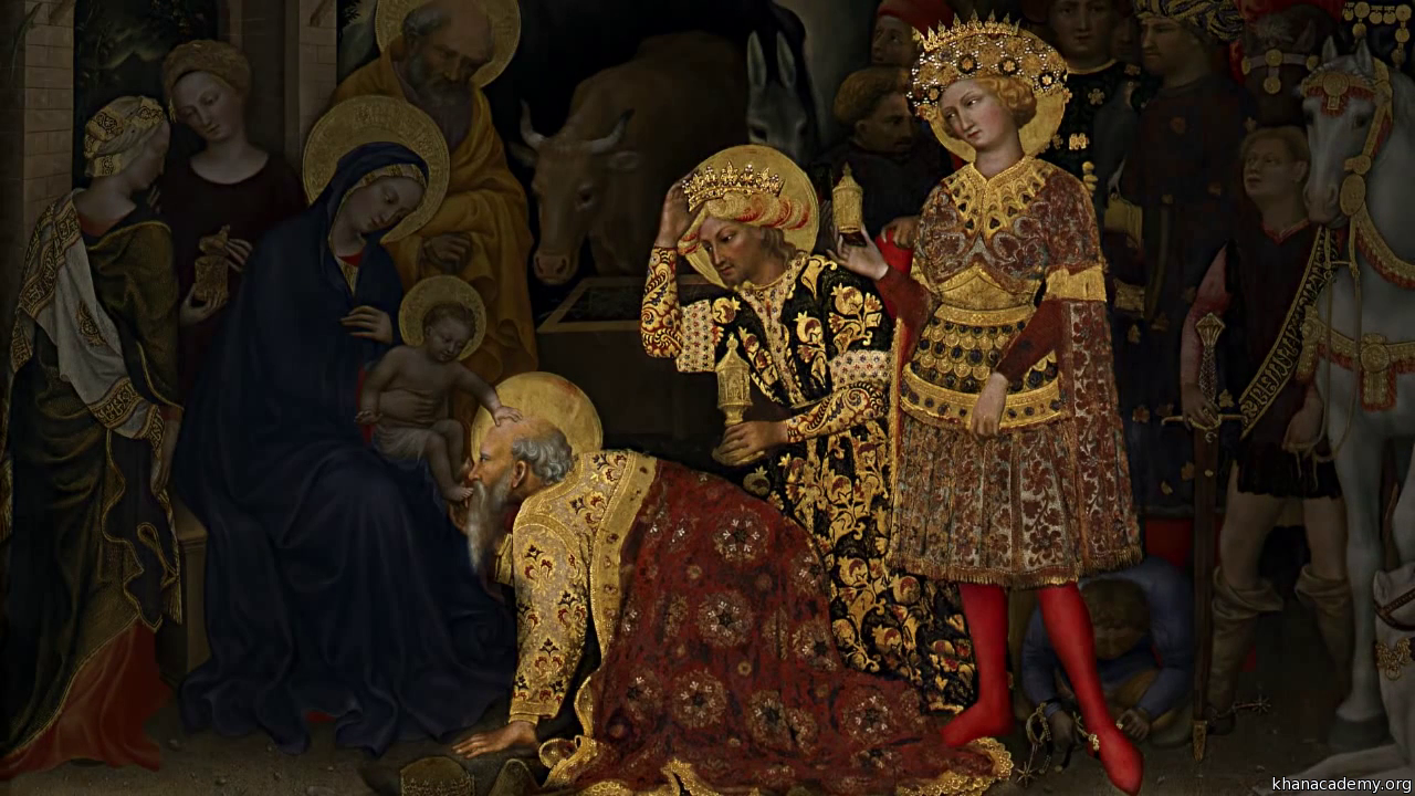 Adoration Of The Magi By Gentile Da Fabriano Video Khan Academy