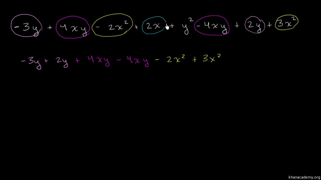 Algebraic expressions | Algebra basics | Math | Khan Academy