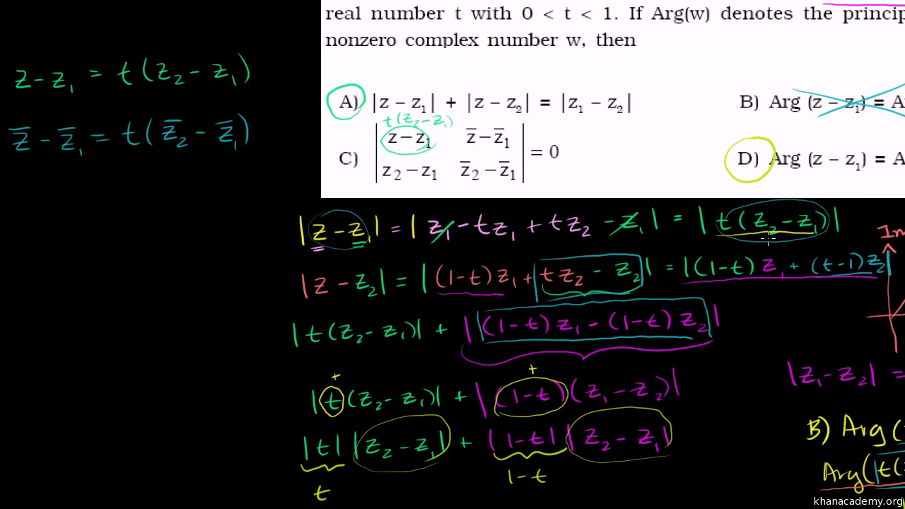 Complex numbers | Algebra (all content) | Math | Khan Academy