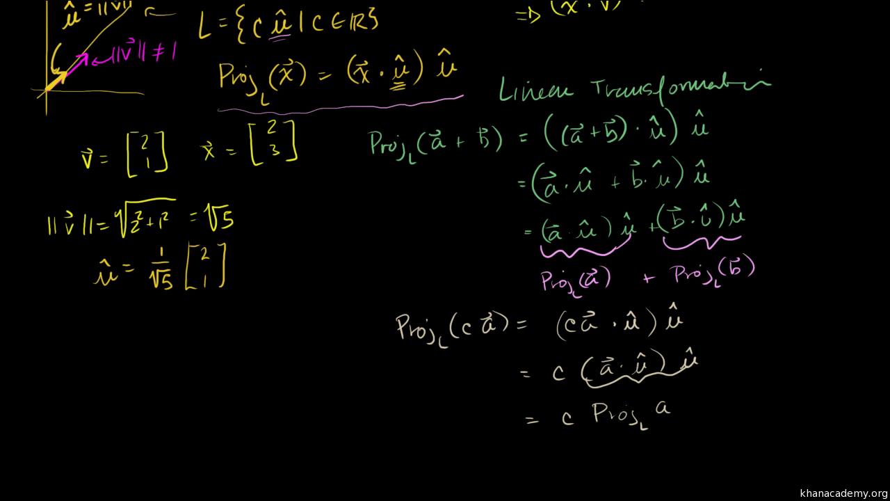 Matrix transformations   Linear algebra   Math   Khan Academy