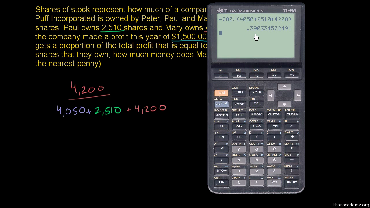 Fractions, decimals, & percentages | 7th grade | Math | Khan