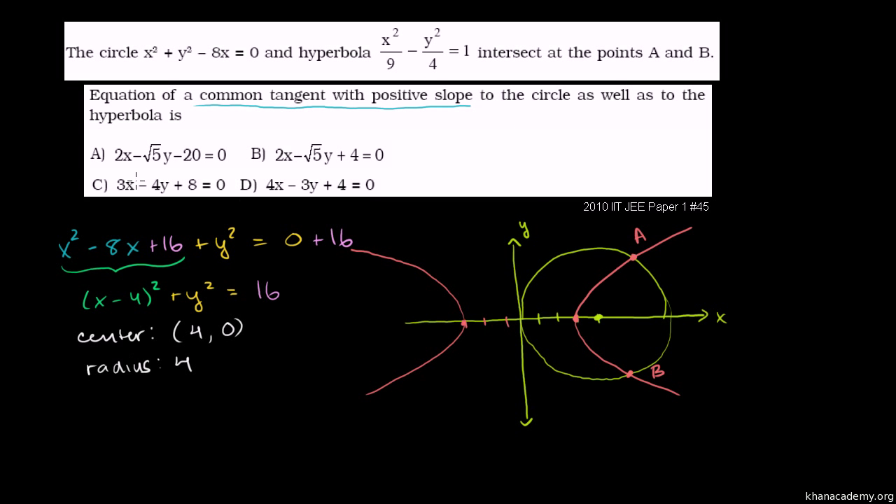 lesson 10.4 problem solving hyperbolas