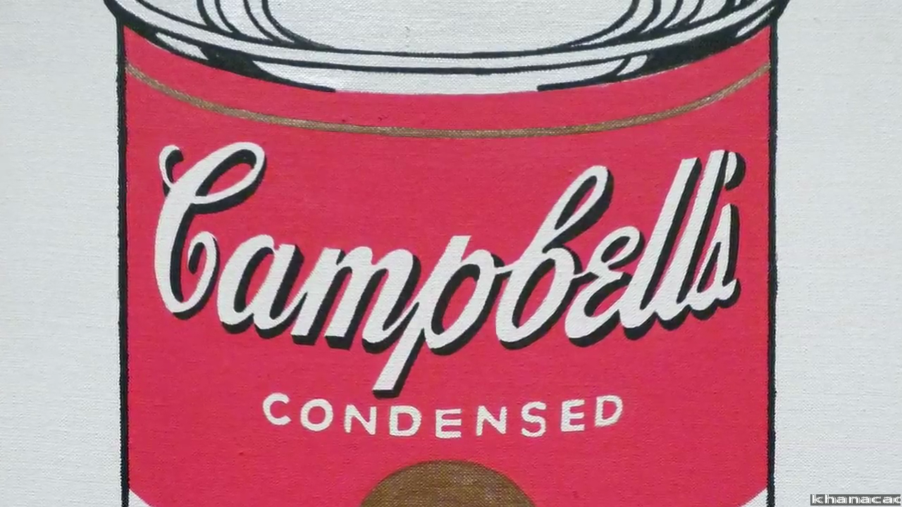 Why Is This Art Andy Warhol Campbell S Soup Cans Video Khan