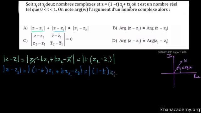 Les Nombres Complexes Algebre Mathematiques Khan Academy