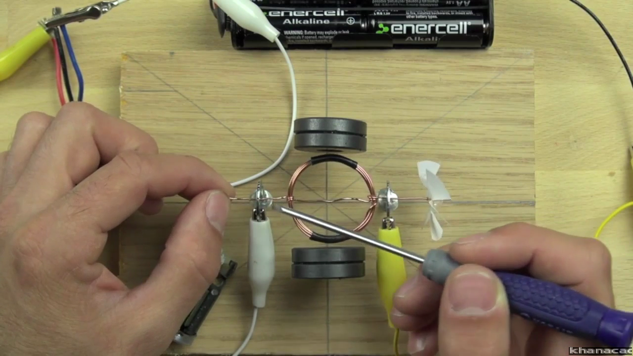 Compare the hair dryer motor to the one you can build on