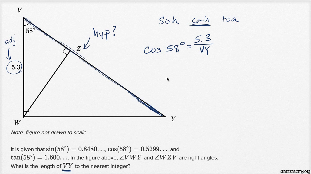 Right triangle geometry — Harder example
