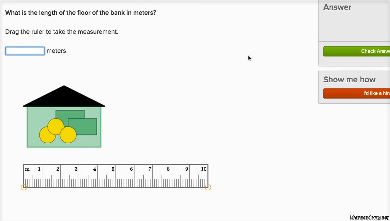 Measuring lengths 2