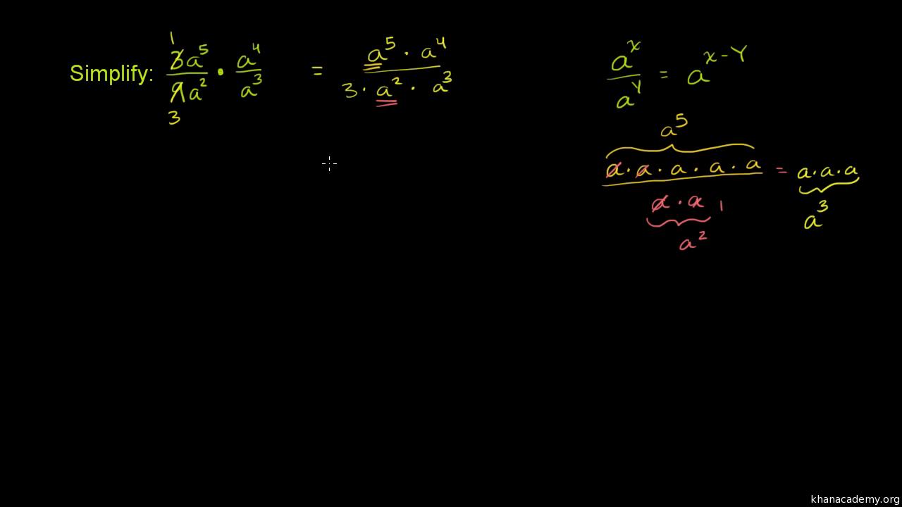 Exponent properties 2 (video) | Khan Academy